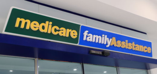 50061047 - melbourne australia - january 1, 2016: medicare department of human services australia. medicare provides access to medical and hospital services for all australian residents.